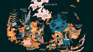 Final Fantasy 2 World Map by Ff Retrospective News Videos Reviews And Gossip Kotaku
