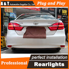 2015 toyota camry tail light car styling led tail l for toyota camry taillights 2015 new camry