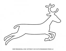 clipart reindeer coloring pages free clipart reindeer coloring pages
