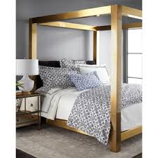 Gold Canopy Bed Bernhardt Gilded Pressley King Bed мебель Pinterest King Beds