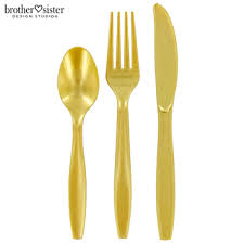plastic cutlery gold assorted plastic cutlery hobby lobby 45175