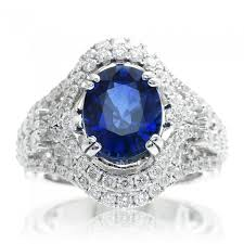 large engagement rings sapphire oval ceylon sapphire large diamond engagement anniversary
