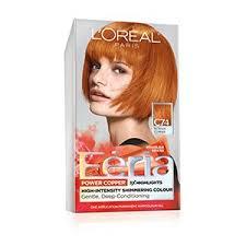 loreal hair color chart ginger permanent copper hair color copper red hair dye l oréal paris
