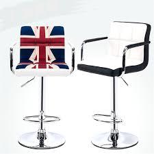 swivel lifting bar chair rotating adjustable height bar stool