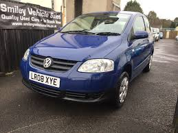 volkswagen fox 1 2 petrol 3 door manual hatchback 2008 blue