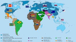 Mexico On World Map by Post War World Map 2027 By Vincent3031593 On Deviantart