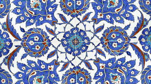 Ottoman Tiles Interior Decoration At The Dome Of The Selimiye Mosque In Edirne