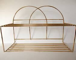 Wall Mount Wire Shelving by Wire Shelf Etsy