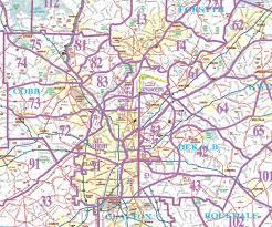 St Paul Zip Code Map by Atlanta Metro Area Map Afputra Com