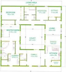 Small House House Plans Small House Plans Courtyard Ranch Houses House Plans вђ U201c Home