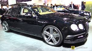 bentley flying spur 2017 blue 2016 bentley flying spur startech exterior and interior