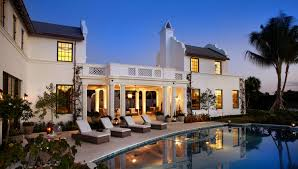 Dutch Colonial Style House by Palm Beach Fl Architects David Neff Architect