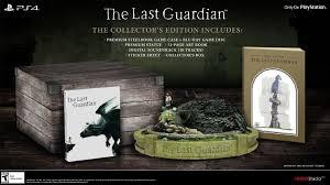 amazon com the last guardian collector u0027s edition playstation