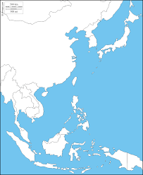 Map Of Middle East Blank by Pictures Of Outline Map Of Asia You Can See A Map Of Many Places