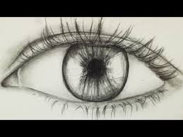 how to draw an eye for beginners alpha art youtube