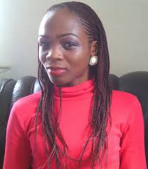 how to style single braids and pix of different styles of