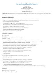 Marketing Specialist Resume Sample by Enrollment Specialist Resume Resume For Your Job Application