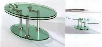 coffee table marvellous revolving glass revolving glass coffee table table designs