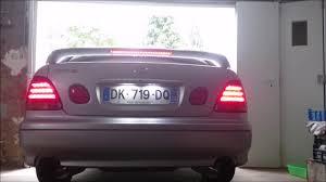 lexus is300 jdm tail lights lexus gs300 led tail light braga type 3 clear 4 youtube