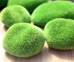 Artificial Garden Rocks Sale Artificial Faux Emulation Moss Fuzzy Rock