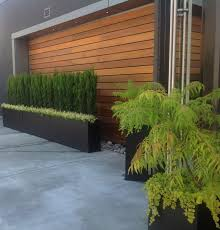 outdoor wood wall wood accent wall contemporary patio vancouver by