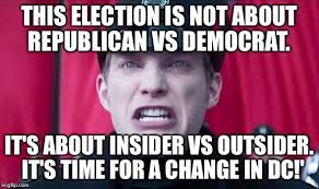 Meme Insider - this election is not about republican vs democrat it s about