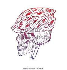vector illustration drawing cyclist helmet stock photos u0026 vector