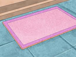 How To Make An Area Rug Out Of Carpet Tiles How To Make A Carpet Into A Rug 14 Steps With Pictures