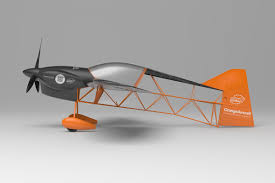 Ultra Light Airplanes Orange Aircraft Come Fly With Us