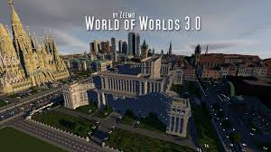 Minecraft New York City Map by World Of Worlds