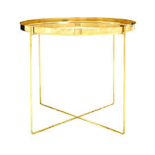 small gold side table small gold round side table metal likable circular explore end