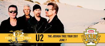 u2 fan club vip access u2 the joshua tree tour 2017 heinz field in pittsburgh pa