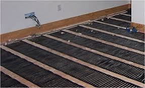 installation of electric radiant floor heating systems