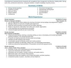Great Resume Examples Good Resume Examples For Jobs Good Resume Examples First Job