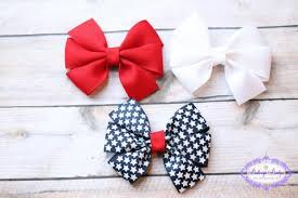 fourth of july hair bows 4th of july bows patriotic hair bows hair bow set baby