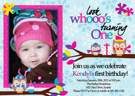 template lovely editable first birthday invitation for boy with