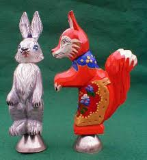 rabbit fox ornament russian legacy
