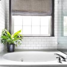 White Subway Bathroom Tile Subway Tile With Black Grout Design Ideas
