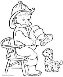 fire truck coloring pages classroom helpers fire