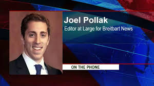 joel pollak editor at large for breitbart news and native of