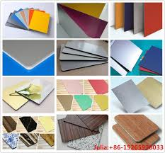 alushine acp sheet brands aluminum plastic composite panel acp