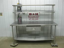 furnitures stainless steel prep table commercial kitchen