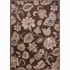 tiara collection home decorators collection tiara brown 2 ft 2 in x 7 ft 6 in