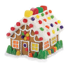 pre baked and pre assembled gingerbread house kit wilton