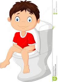 child sitting clipart little boy cartoon sitting on the toilet illustration 52776905