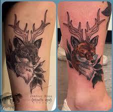 minds eye tattoo emmaus hours best friend fox tattoos by joshua ross at mind s eye tattoo in