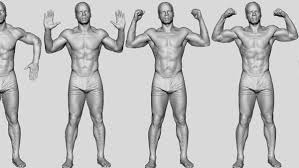 Female Body Reference For 3d Modelling 3d Body Scanning Infinite Realities