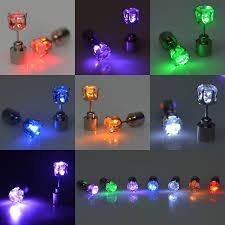 led earrings novelty christmas earrings led earring children light up