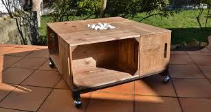 Table En Caisse En Bois Table Basse Cagette Mojekop