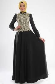 model baju muslim modern baju gamis hitam modern